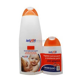 LETI AT4 GEL DE BAÑO 750 ML+200ML