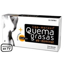 Quemagrasas Abdominal Fórmula Forte Lipo-Morosil® NUTRICION CENTER 30 cápsulas