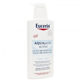 EUCERIN AQUAPORIN ACTIVE LOCION-GEL REFRESCANTE CORPORAL 400 ML