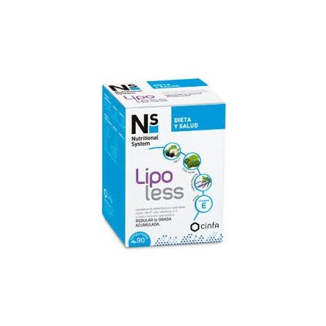NS LIPO LESS 90 COMPRIMIDOS