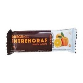 BARRITA SACIANTE OBEGRASS ENTRE HORAS CHOCOLATE NEGRO-NARANJA 30GR